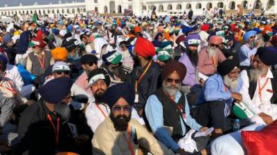 Sikhs celebrate 550th birth anniversary of Baba Guru Nanak