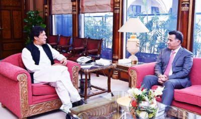 ISI chief calls on PM Khan, discusses national security matters