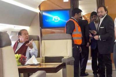 Nawaz Sharif lands in London, will consult with doctors today