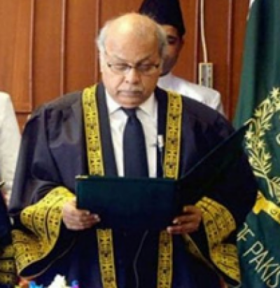 Law ministry notifies Justice Gulzar Ahmed's appointment as new CJP