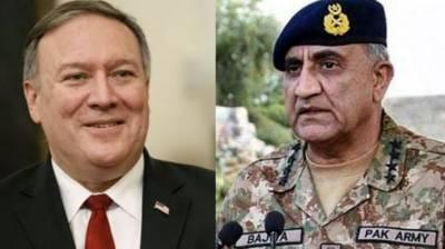 Mike Pompeo phones COAS Gen Bajwa to discuss escalating US-Iran tensions