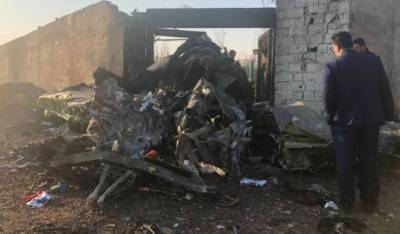 Ukrainian airplane crashes in Iran, killing all 176 on board