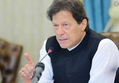PM Imran Khan in Karachi on a day-long visit