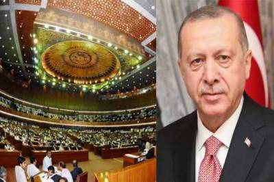 Pakistan has always been like a home, says Erdogan in address to Parliament