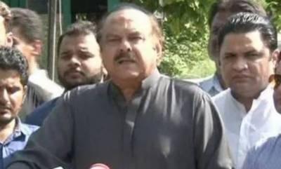 Senior PTI leader Naeemul Haque passes away