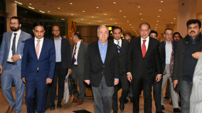 UN chief in Islamabad to attend conference on Afghan refugees
