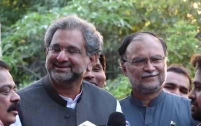 IHC grants bail to PML-N's Shahid Khaqan Abbasi, Ahsan Iqbal in corruption cases