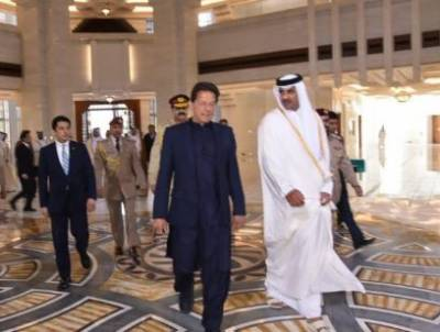 PM Imran in Qatar on day-long visit