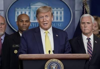 President Trump declares national emergency in US amid coronavirus fears