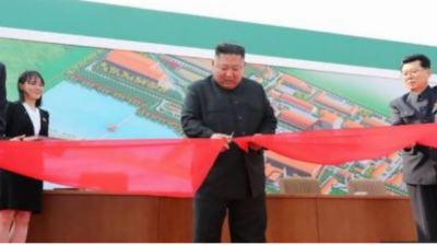 North Korean leader Kim Jong Un makes public appearance amid health rumours