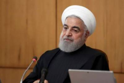 Rouhani pledges 'crushing response' if US extends arms embargo