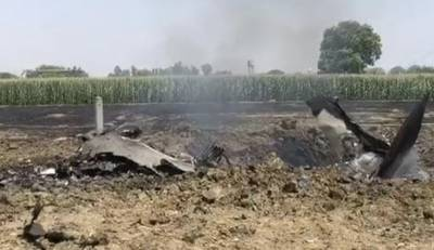Indian Air Force MiG-29 crashes
