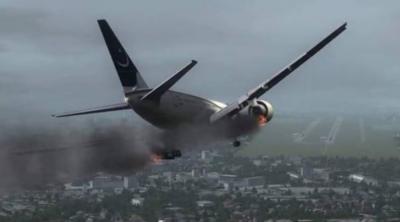 PIA passenger aircraft crashes near Karachi airport