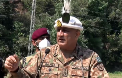 Pak Army observing Eid in solidarity with Kashmiris under lockdown, says COAS during LoC visit