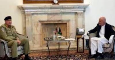 COAS Bajwa meets Afghan President Ghani in Kabul