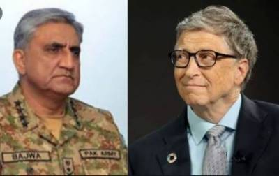 Bill Gates phones COAS Bajwa, hails Pak Army's role in anti-polio drive
