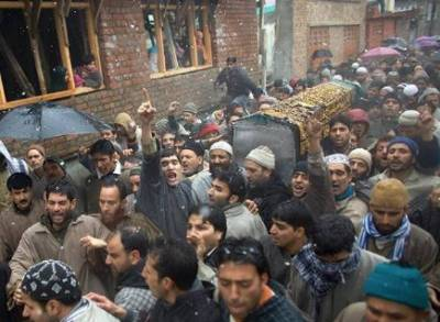 Indian troops martyr four more Kashmiri youth in IOK