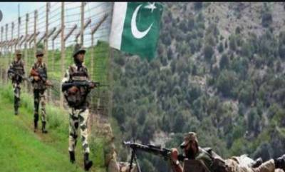 Four civilians martyred in Indian ceasefire violation along LoC: ISPR