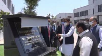 PM Imran inaugurates first ever ventilator production facility in Pakistan
