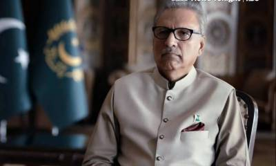 COVID-19: President Alvi urges nation to observe SOPs during Eid