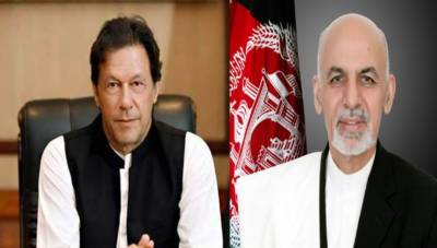 PM Imran, Afghan President Ghani discuss peace process in Afghanistan