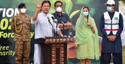Biggest act of charity one can do is plant a tree: PM Imran
