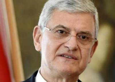 UNGA President-elect Volkan Bozkir arrives in Pakistan on two-day visit