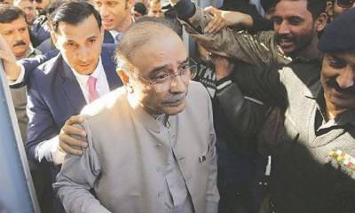 Accountability court indicts Zardari in Park Lane reference