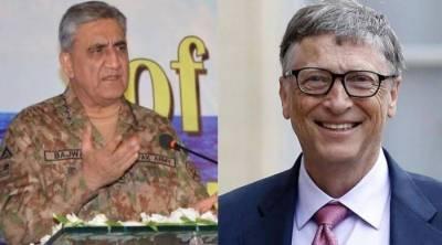 COAS, Bill Gates discuss Pakistan's COVID-19 response, polio campaign resumption