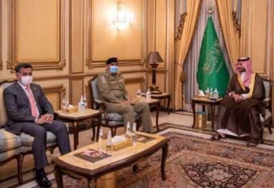 COAS Bajwa, Saudi deputy defence minister discuss regional security