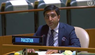 Jammu and Kashmir never was India's part, Pakistan declares at UN