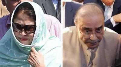 Asif Zardari, Faryal Talpur indicted in Money Laundering case
