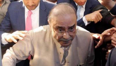 Former president Asif Zardari admitted to hospital after feeling unwell