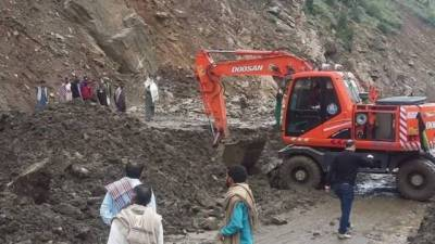 At least 16 passengers killed as landslide crushes bus in Skardu
