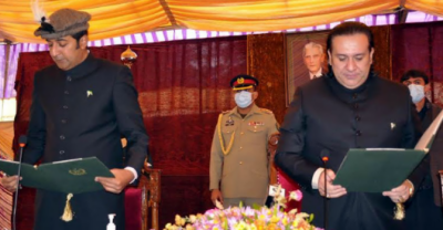 Barrister Khalid Khursheed sworn in as GB chief minister