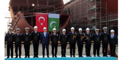 Naval Chief Admiral Amjad Khan Niazi visits Turkish Naval Shipyards