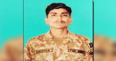 Pakistan Army soldier martyred in Indian unprovoked firing along LoC