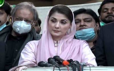 Maryam Nawaz criticises PM Imran for calling Hazara protesters 'blackmailers'