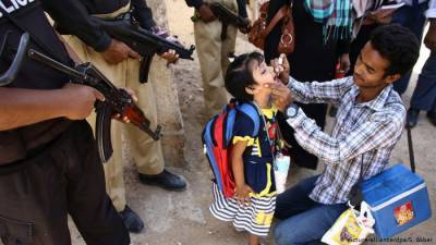 Policeman escorting polio team martyred in KP's Karak